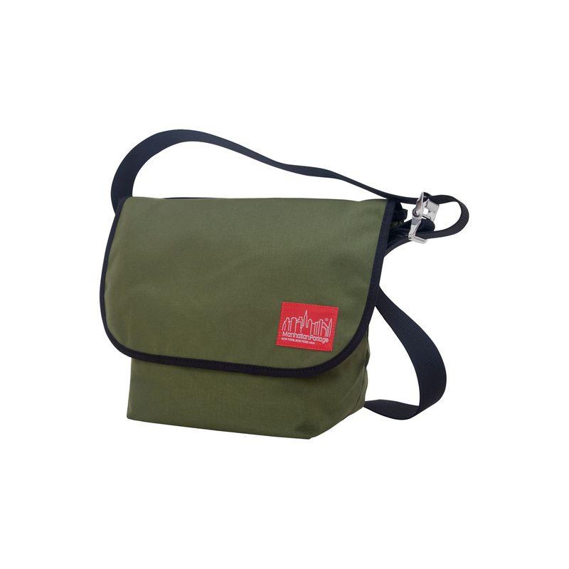 マンハッタンポーテージ メンズ ショルダーバッグ バッグ Vintage Messenger Bag (M) Olive