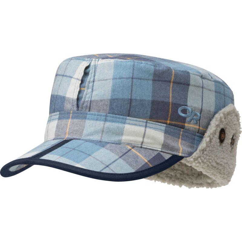 アウトドアリサーチ メンズ 帽子 アクセサリー Yukon Cap M - Naval Blue Plaid