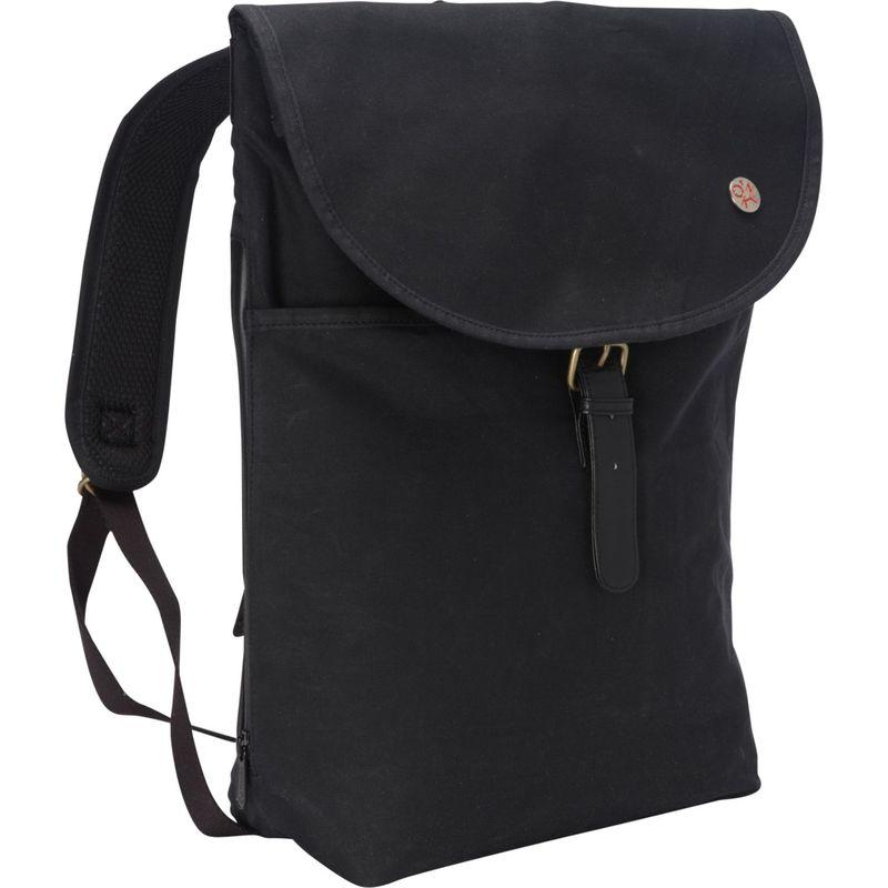 トーケン メンズ バックパック・リュックサック バッグ Bergen Waxed Backpack (L) Black