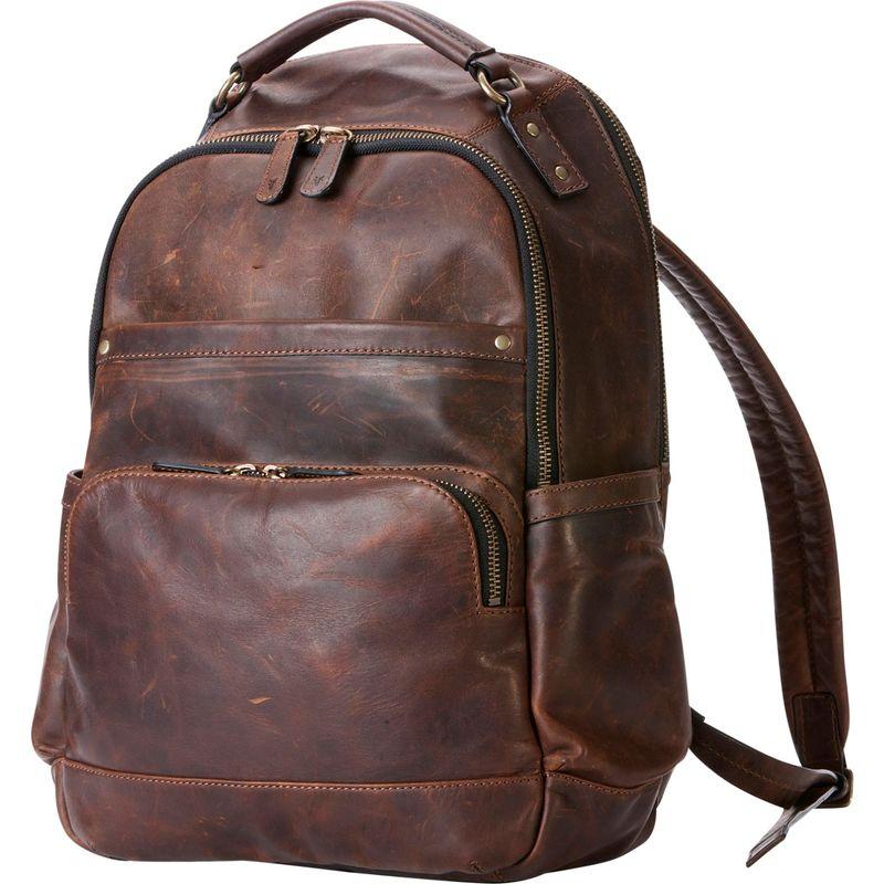 フライ メンズ バックパック・リュックサック バッグ Logan Backpack Dark Brown