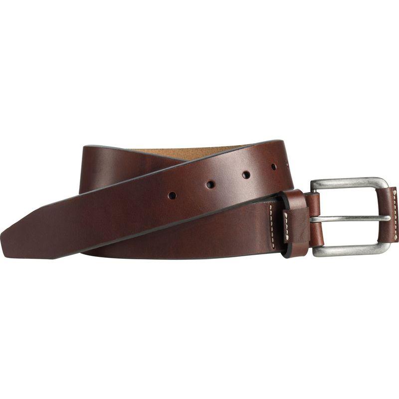 ジョンストンアンドマーフィー メンズ ベルト アクセサリー Wrapped Buckle Belt 36 - Brown