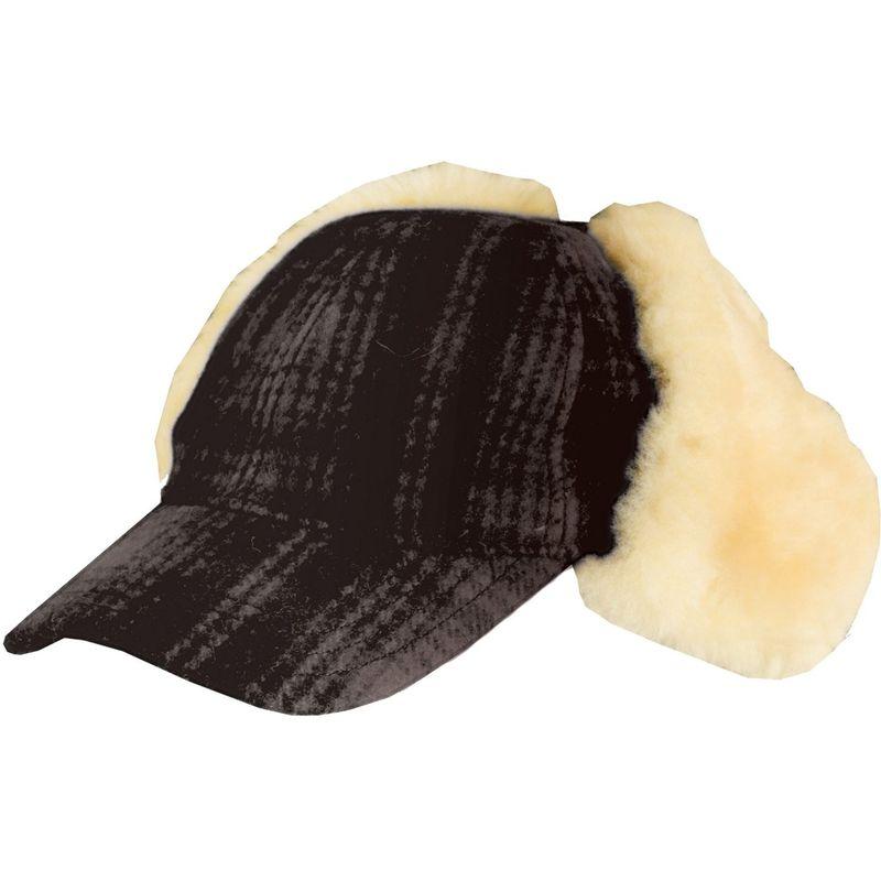 ウール リッチ メンズ 帽子 アクセサリー Heritage Plaid Cap Hat M - Brown