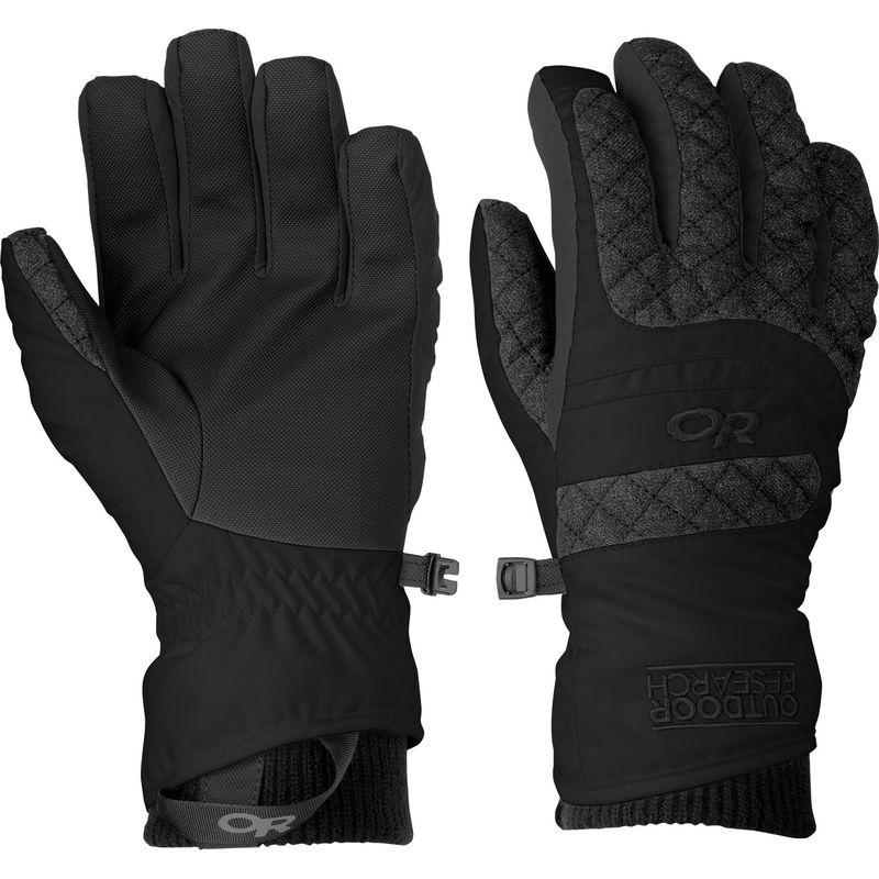 アウトドアリサーチ レディース 手袋 アクセサリー Riot Gloves Women's L - Black
