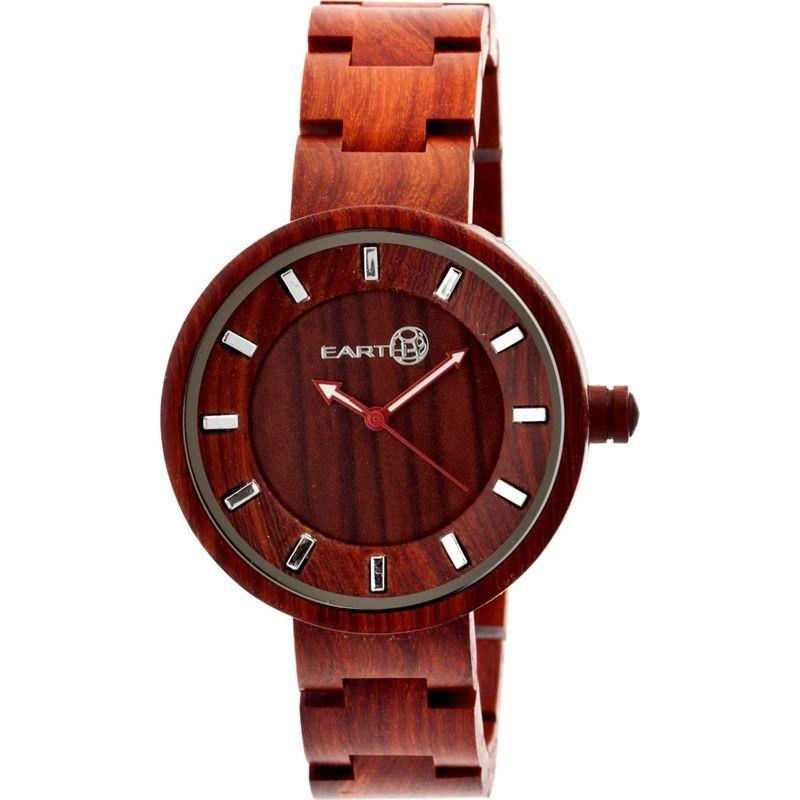 アースウッド メンズ 腕時計 アクセサリー Root Watch Red Rosewood