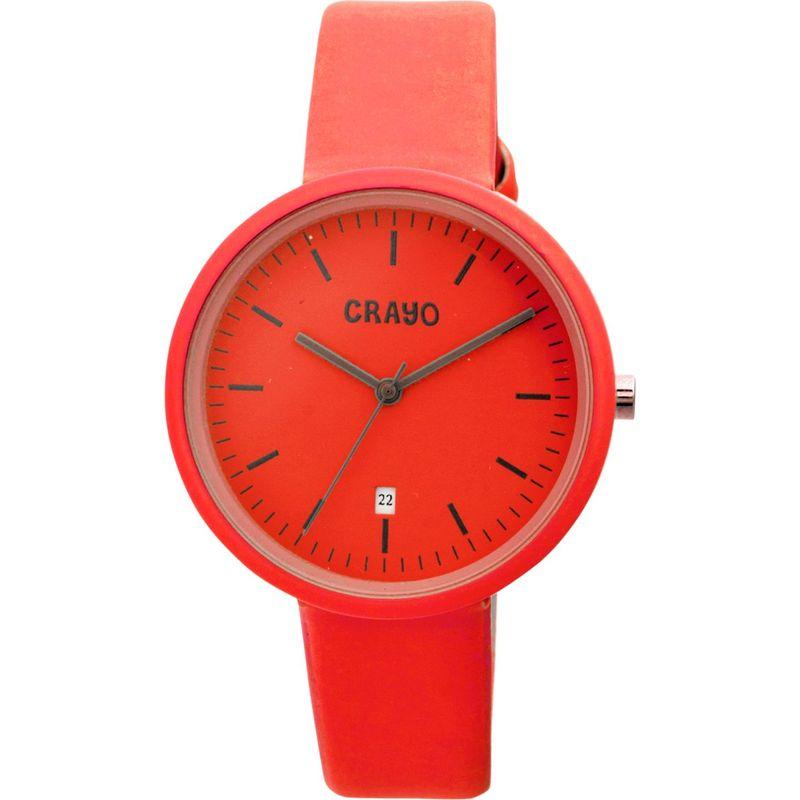 クラヨ メンズ 腕時計 アクセサリー Easy Ladies Watch Red