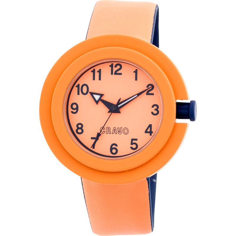 クラヨ メンズ 腕時計 アクセサリー Equinox Ladies Watch Orange