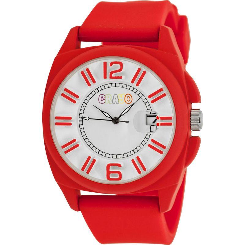 クラヨ メンズ 腕時計 アクセサリー Sunset Unisex Watch Red