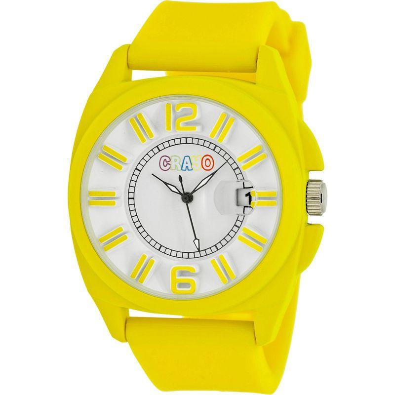 クラヨ メンズ 腕時計 アクセサリー Sunset Unisex Watch Yellow