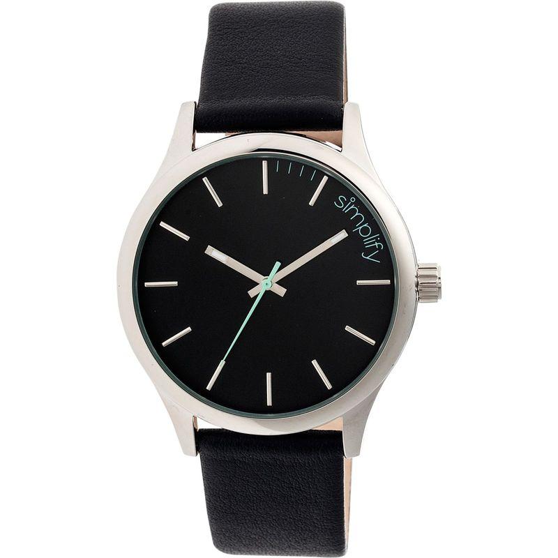 シンプリファイ メンズ 腕時計 アクセサリー 2400 Unisex Watch Silver/Black