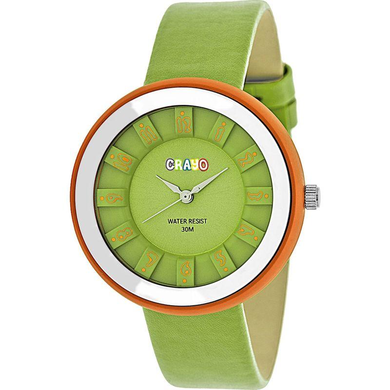 クラヨ メンズ 腕時計 アクセサリー Celebration Strap Watch Green
