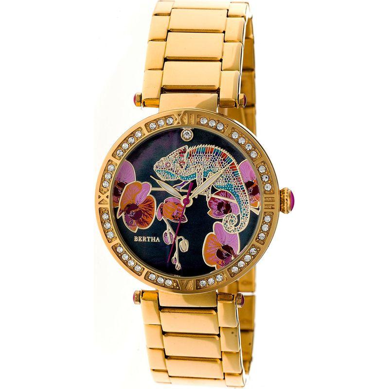 ベルサ メンズ 腕時計 アクセサリー Camilla Stainless Steel Ladies Watch Gold