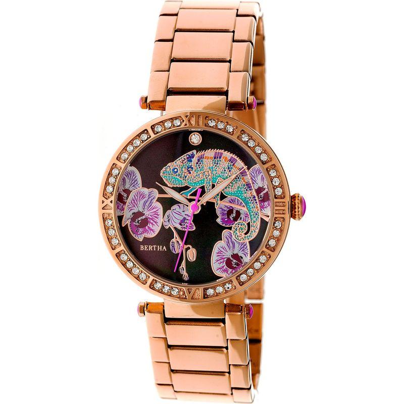 ベルサ メンズ 腕時計 アクセサリー Camilla Stainless Steel Ladies Watch Rose Gold