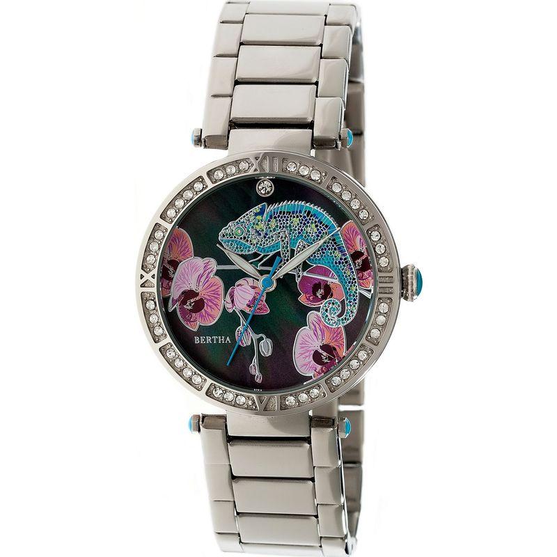 ベルサ メンズ 腕時計 アクセサリー Camilla Stainless Steel Ladies Watch Silver