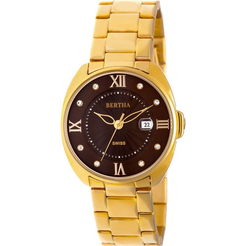 ベルサ メンズ 腕時計 アクセサリー Amelia Stainless Steel Ladies Watch Gold