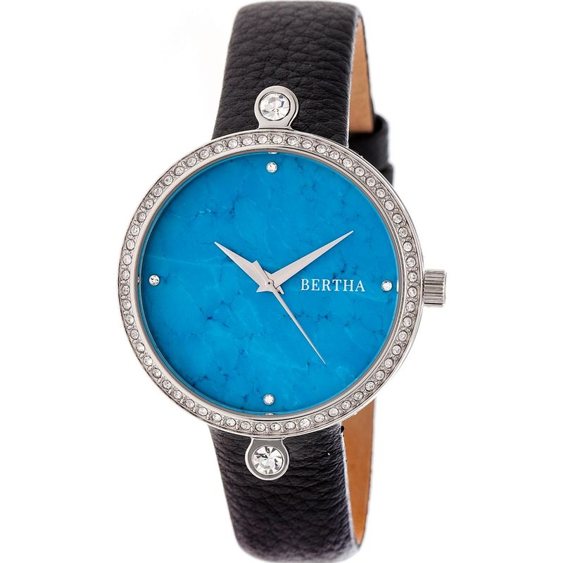 ベルサ メンズ 腕時計 アクセサリー Frances Ladies Watch Black/Silver/Cerulean