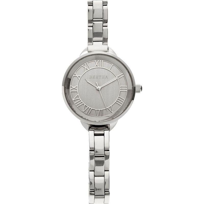 ベルサ メンズ 腕時計 アクセサリー Madison Stainless Steel Ladies Watch Silver