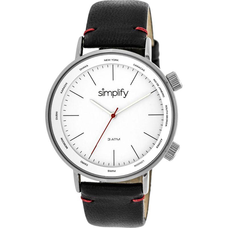 シンプリファイ メンズ 腕時計 アクセサリー The 3300 Unisex Watch Black/Silver/White