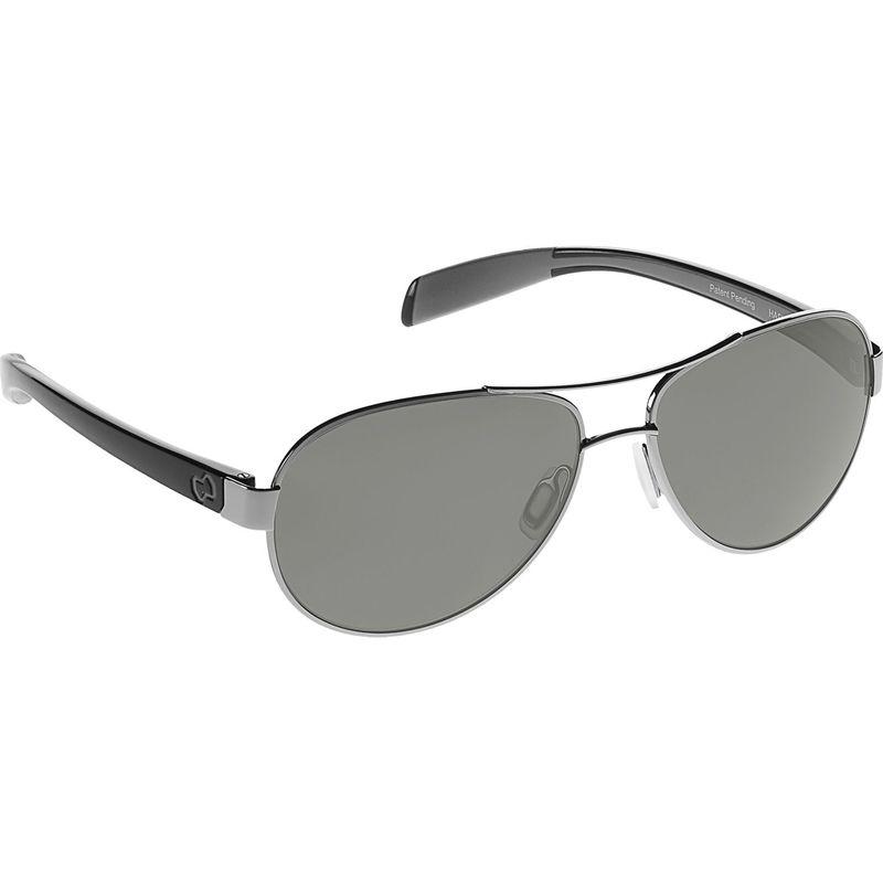 ネイティブアイウェア メンズ サングラス・アイウェア アクセサリー Haskill Sunglasses Chrome/Gloss Black with Polarized Gray