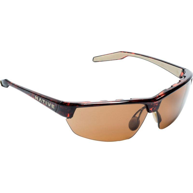 ネイティブアイウェア メンズ サングラス・アイウェア アクセサリー Hardtop Ultra Sunglasses Maple Tort with Polarized Brown
