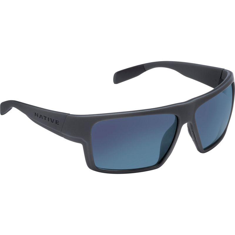 ネイティブアイウェア メンズ サングラス・アイウェア アクセサリー Eldo Sunglasses Granite/Matte Black/Granite with Polarized Blue Re