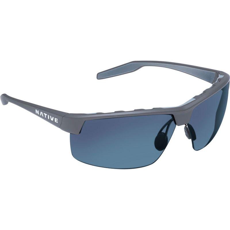 ネイティブアイウェア メンズ サングラス・アイウェア アクセサリー Hardtop Ultra XP Sunglasses Granite with Polarized Blue Reflex