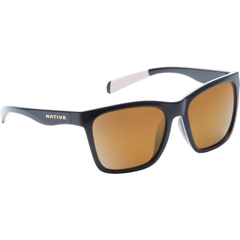 ネイティブアイウェア メンズ サングラス・アイウェア アクセサリー Braiden Sunglasses Gloss Black/Pale Pink/Gloss Black with Polarized B