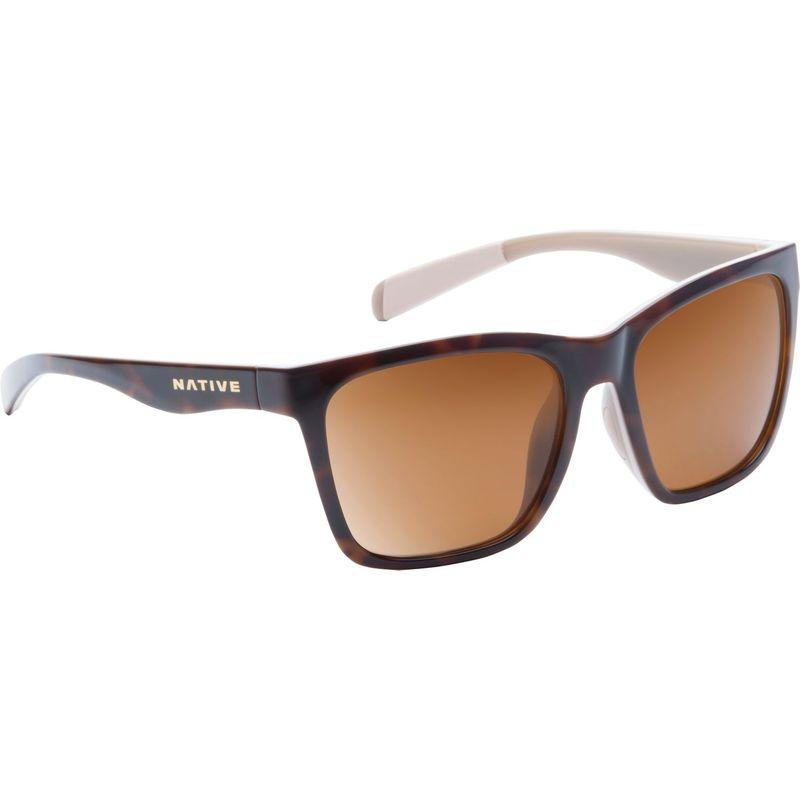 ネイティブアイウェア メンズ サングラス・アイウェア アクセサリー Braiden Sunglasses Maple Tort/Pale Pink/Nude Crystal with Polarized B