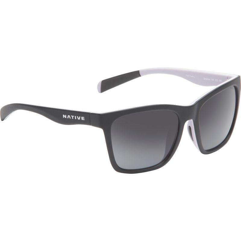 ネイティブアイウェア メンズ サングラス・アイウェア アクセサリー Braiden Sunglasses Matte Black/Blush/Violet with Polarized Gray