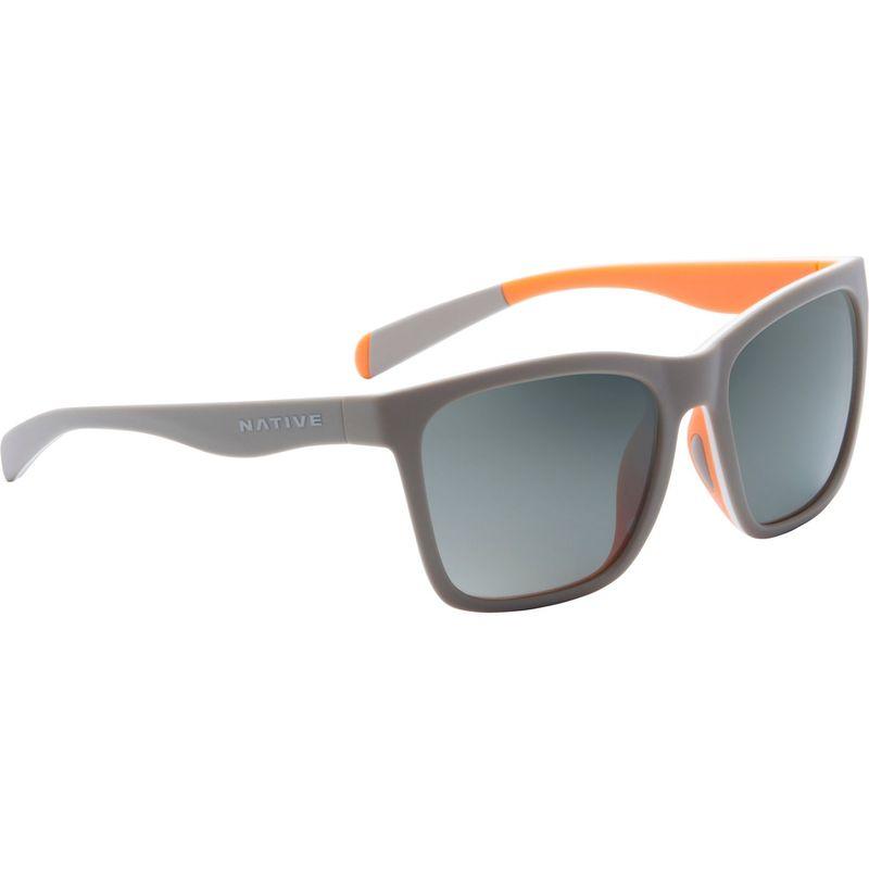 ネイティブアイウェア メンズ サングラス・アイウェア アクセサリー Braiden Sunglasses Matte Gray/White/Peach with Polarized Gray