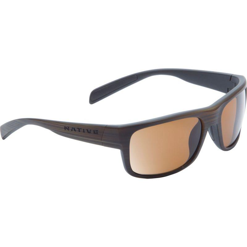 ネイティブアイウェア メンズ サングラス・アイウェア アクセサリー Ashdown Sunglasses Wood with Polarized Brown