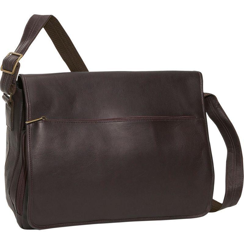 デビッドキング メンズ スーツケース バッグ Laptop Messenger Bag Cafe