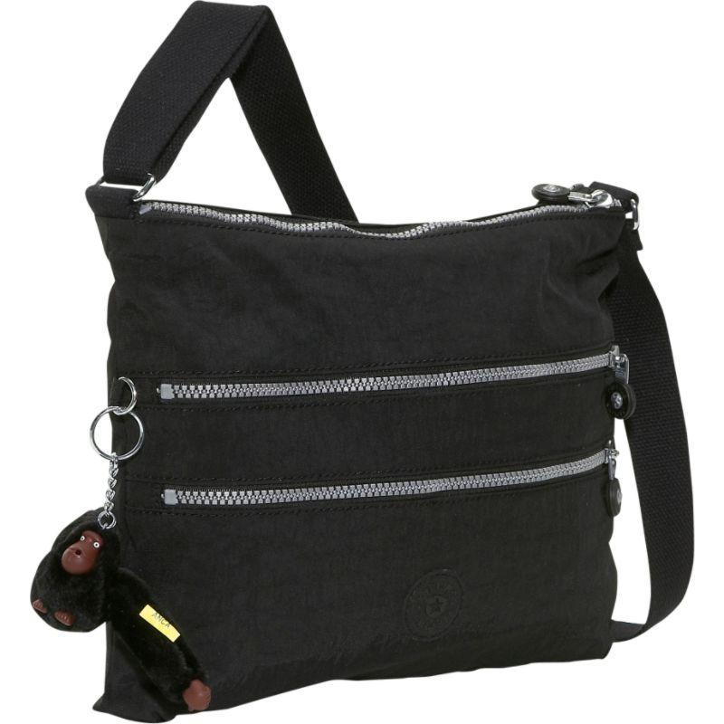 キプリング メンズ ボディバッグ・ウエストポーチ バッグ Alvar Crossbody Bag Black