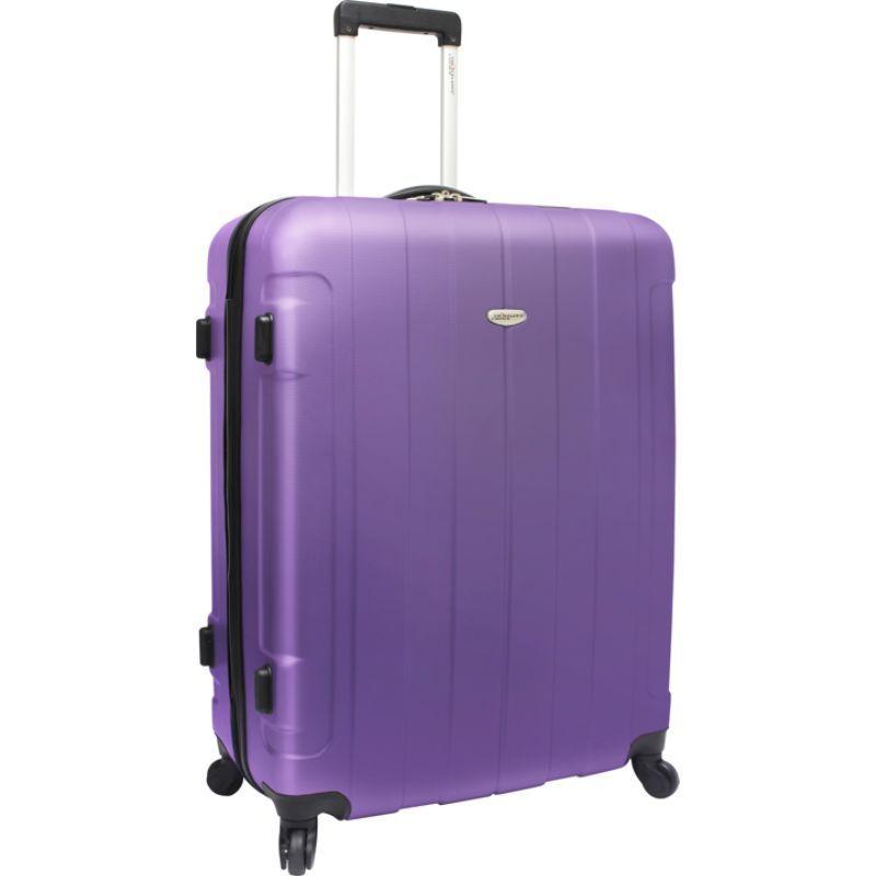 トラベラーズチョイス メンズ スーツケース バッグ Rome 29 in. Hardshell Spinner Suitcase Purple