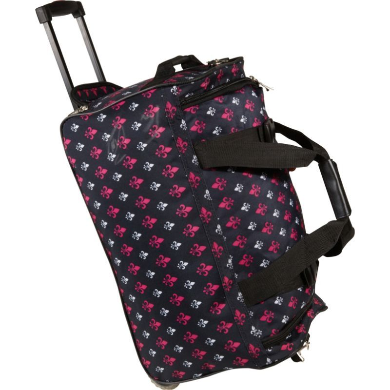 ロックランド メンズ スーツケース バッグ 22 Rolling Duffle Bag Black Icon