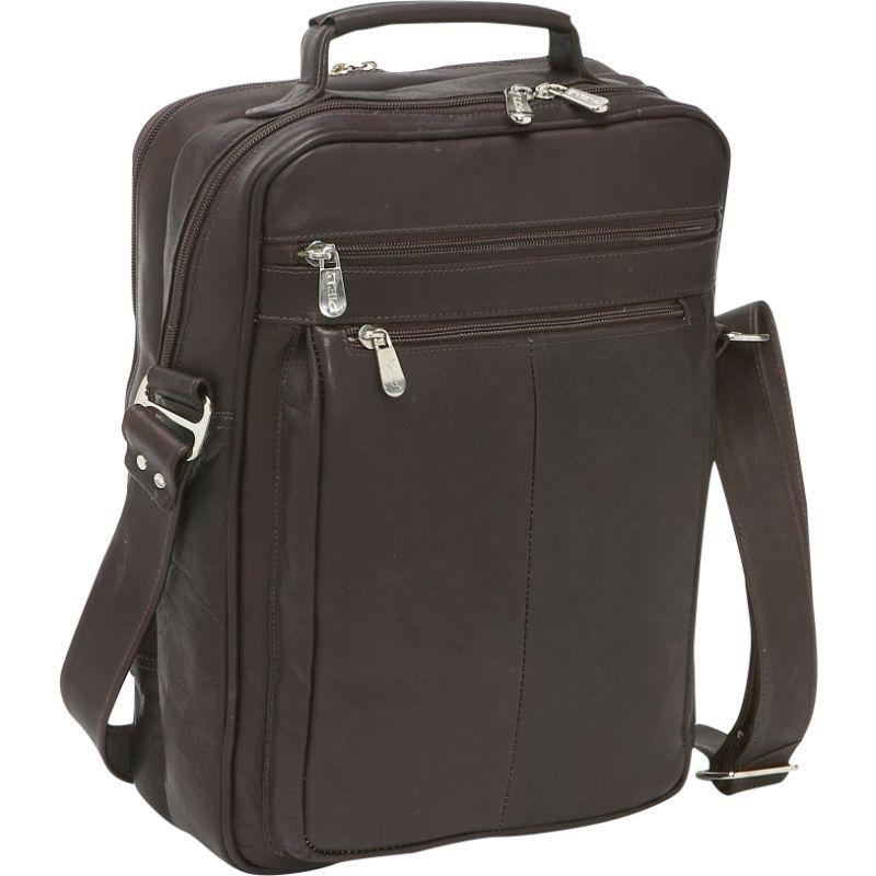 ピエール メンズ スーツケース バッグ Laptop Shoulder Bag Chocolate