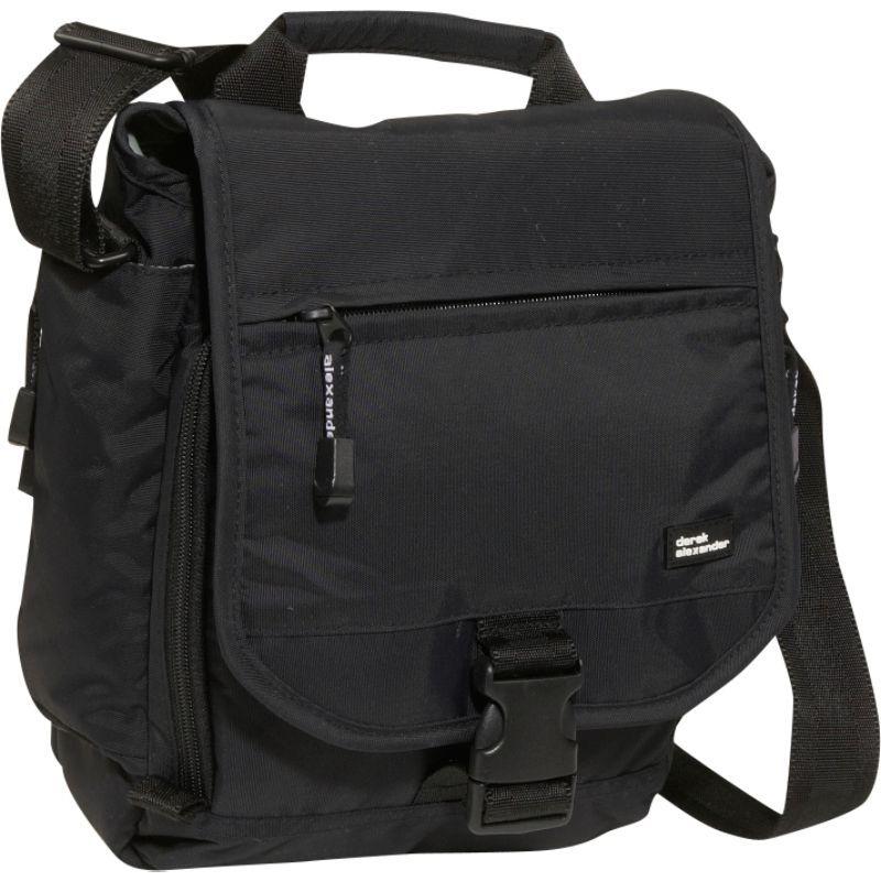 デレクアレクサンダー メンズ ボディバッグ・ウエストポーチ バッグ NS full flap shoulder bag Black