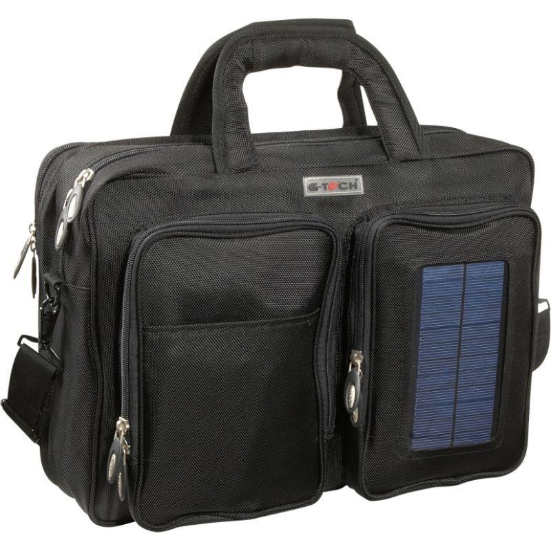 ベリノ メンズ スーツケース バッグ G-Tech Solar Computer Brief/Backpack Black