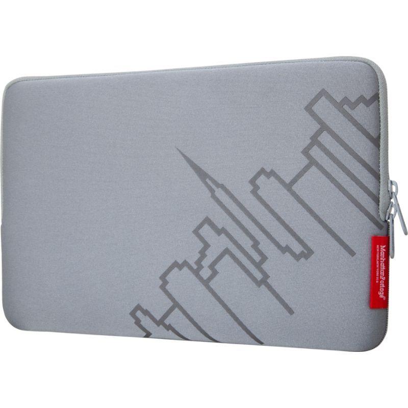 マンハッタンポーテージ メンズ スーツケース バッグ MacBook Air Skyline Sleeve (11) Silver