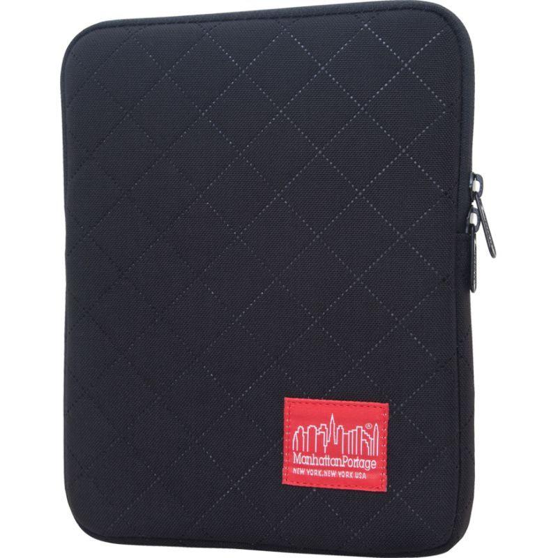 マンハッタンポーテージ メンズ スーツケース バッグ Quilted iPad Sleeve (8-10 in.) Black