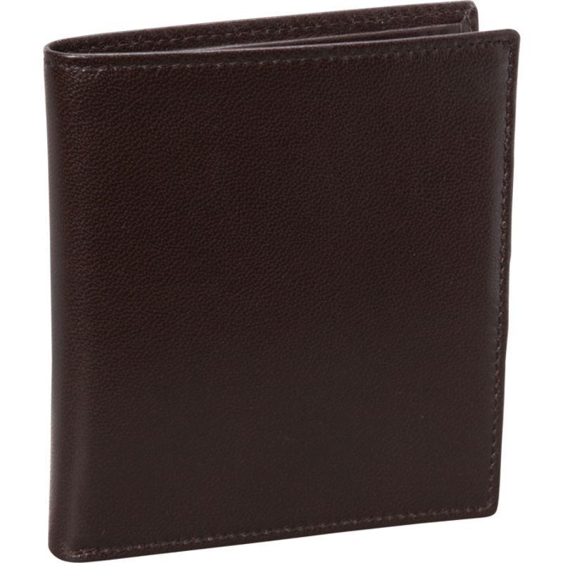 バッドレザー メンズ 財布 アクセサリー Nappa Soft Leather Hipster Wallet Brown