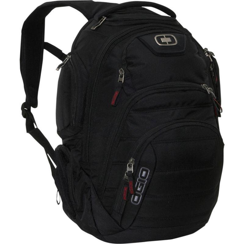 オギオ メンズ スーツケース バッグ Renegade RSS Laptop Backpack - 15 Black