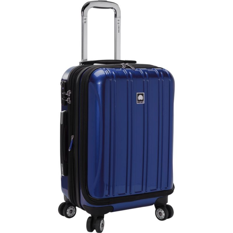 デルシー メンズ スーツケース バッグ Helium Aero International Carry On Expandable Spinner Trolley - 19 Blue