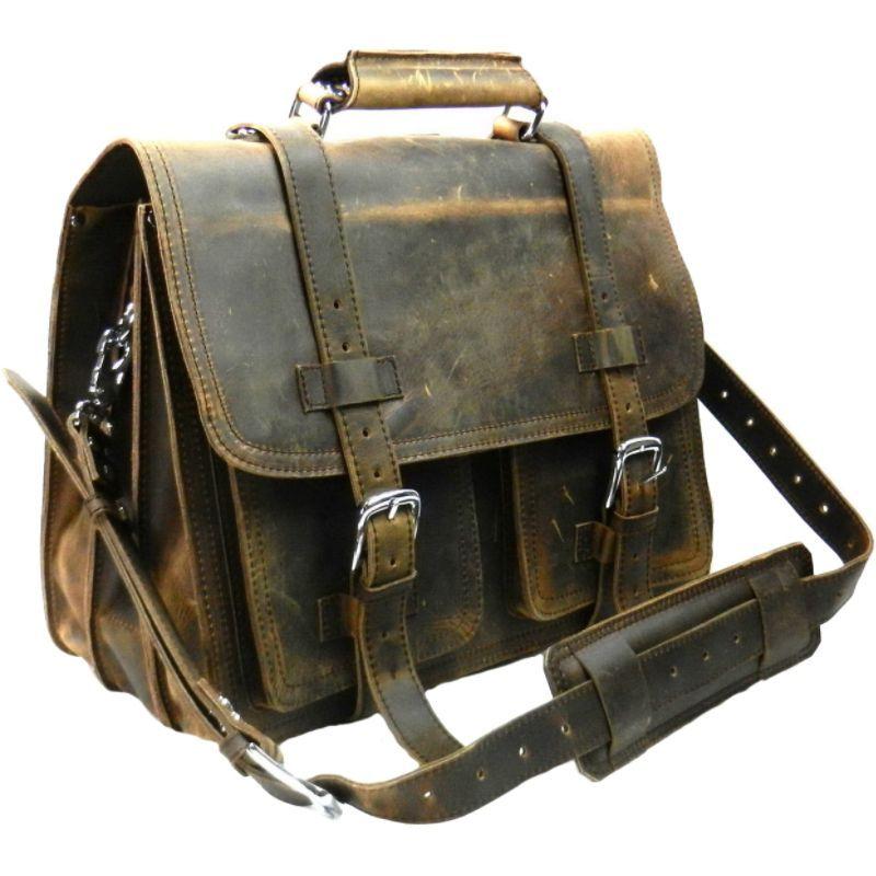 ヴァガボンドトラベラー メンズ スーツケース バッグ CEO Full Leather Briefcase & Backpack Vintage Distress