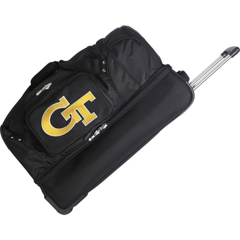 デンコスポーツ メンズ スーツケース バッグ NCAA 27 Drop Bottom Wheeled Duffel Bag Georgia Institute of Technology Yellow Jackets