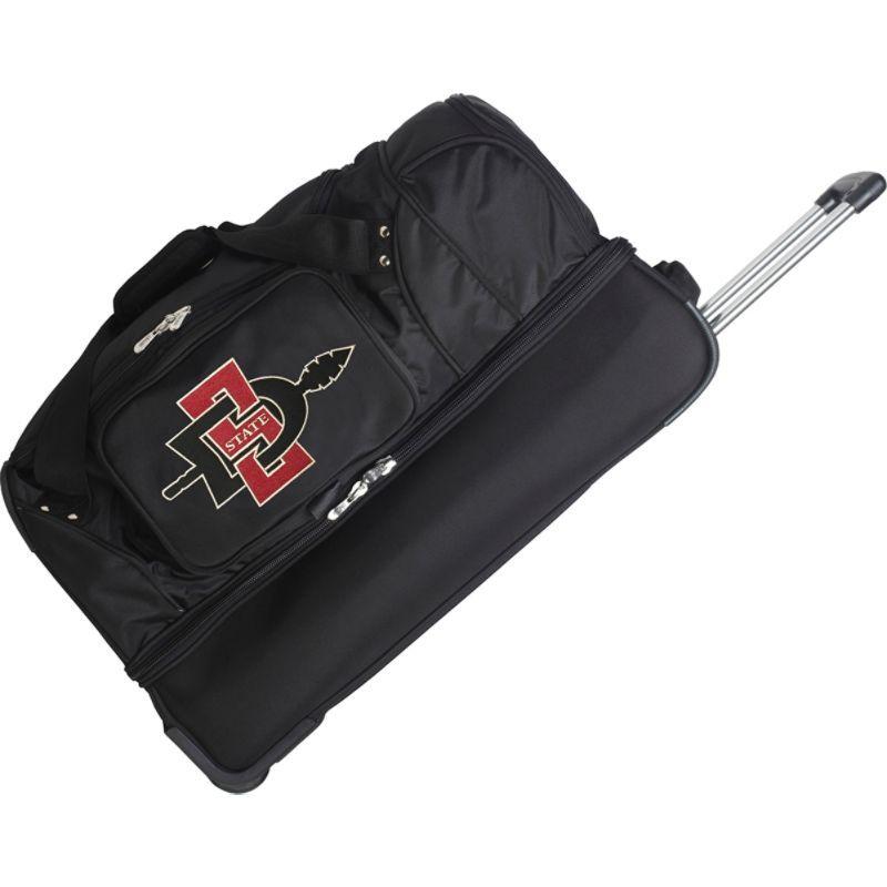 デンコスポーツ メンズ スーツケース バッグ NCAA 27 Drop Bottom Wheeled Duffel Bag San Diego State University Aztecs