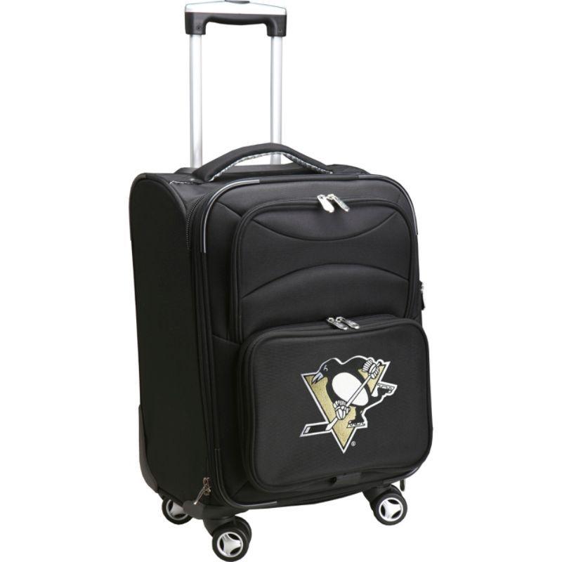 デンコスポーツ メンズ スーツケース バッグ NHL 20 Domestic Carry-On Spinner Pittsburgh Penguins