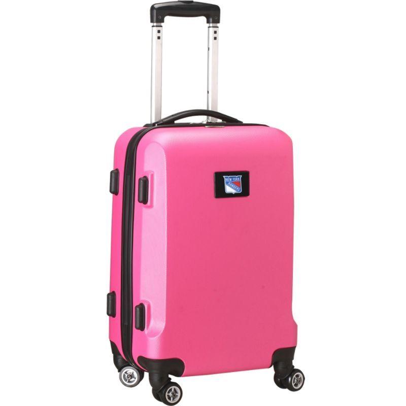 デンコスポーツ メンズ スーツケース バッグ NHL 20 Domestic Carry-On Pink New York Rangers