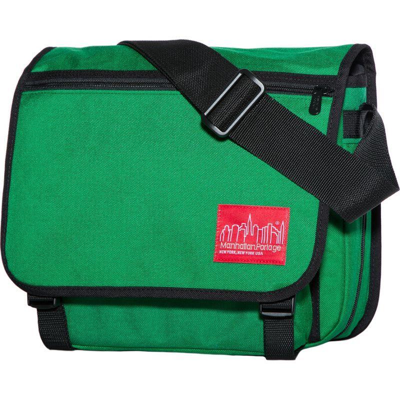 マンハッタンポーテージ メンズ ショルダーバッグ バッグ Small Europa Messenger Green