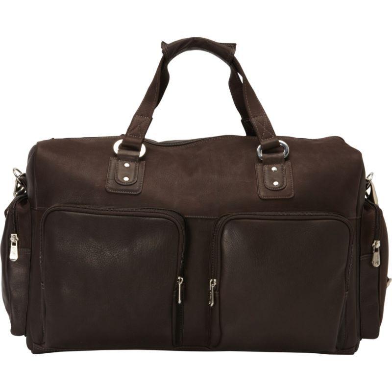 ピエール メンズ スーツケース バッグ Multi-Pocket Carry-On Chocolate