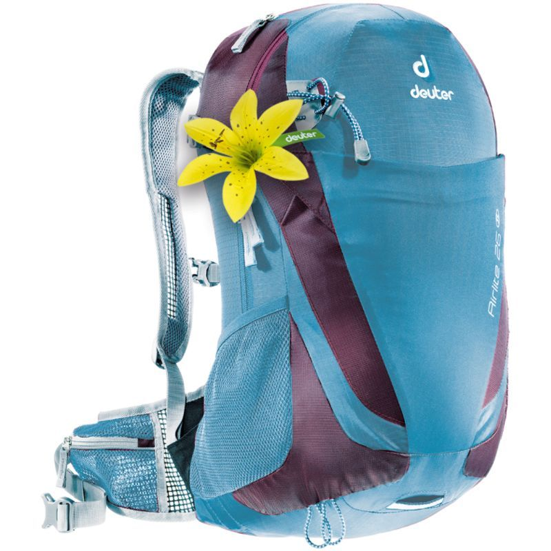 ドイター メンズ バックパック・リュックサック バッグ Airlite 26 SL Hiking Backpack Coolblue/Blueberry